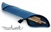 Etui für Drumsticks aus Wollfilz - petrol
