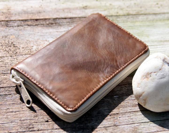 Grete - Geldbeutel mit Reißverschluss | machwerk