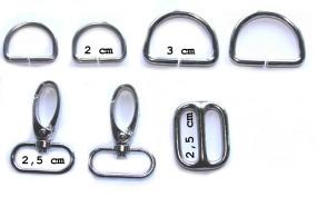 Metallteile Sixta 2,5 cm