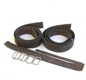 3 cm breites Lederriemen-Set für den Rucksack ARC
