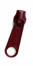 Schieber für schmale Reißverschlussmeterware - bordeaux