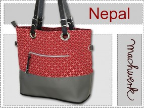 Taschenschnitt Nepal