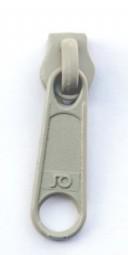 Schieber für schmale Reißverschlussmeterware - natur