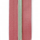 Reißverschluss metallisiert rosa