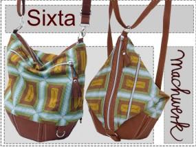 Sixta - Tasche, Rucksack oder Matchsack